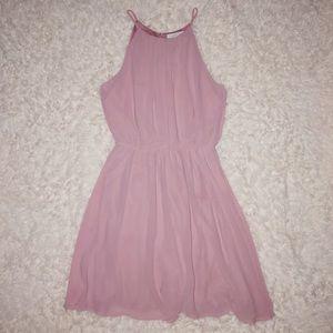 Francesca's light pink dress